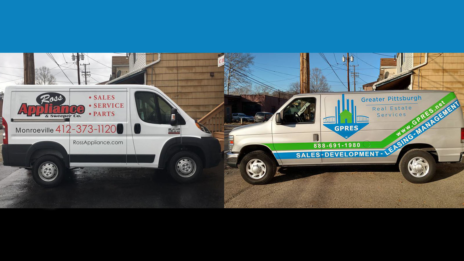 Pittburgh Vehicle Lettering